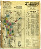 St. Joseph, Missouri, 1883 August, sheet 01
