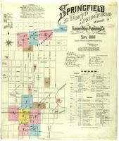 Springfield, Missouri, 1886 November, sheet 01