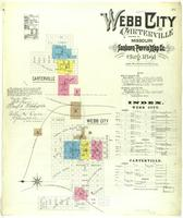 Webb City, Missouri, 1891 August