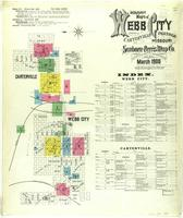Webb City, Missouri, 1900 March, sheet 01