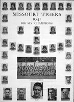 1941 University of Missouri Football Team, Big Six Champions