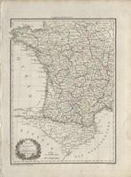 Partie Occidentale de l'Empire Francais (1812)
