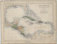 Central America and the West Indian Islands (1863)