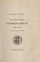 Page 137 : 1915 commencement program