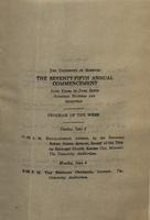 Page 167 : 1917 commencement program of the week