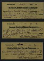 Boone County Trust Company receipts