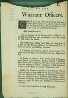 Case of the warrant officers