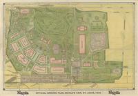 Official ground plan, World's Fair, St. Louis, 1904