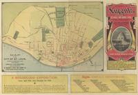 Map of the City of St. Louis, showing street car lines, location of World's Fair Grounds,