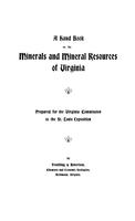 Handbook on the minerals and mineral resources of Virginia