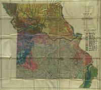 Soil map of Missouri