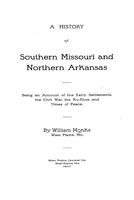 History of southern Missouri and northern Arkansas