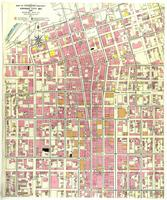 Kansas City, Missouri, 1909, Map of congested district