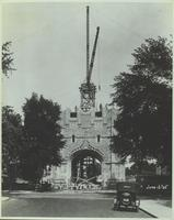 Construction of Memorial Tower, June 15, 1925