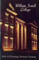 William Jewell College catalog, 1991-93: Evening Division catalog