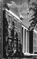 William Jewell College catalog, 1953-1954: announcements 1953-1954