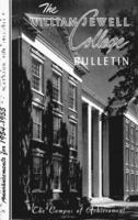 William Jewell College catalog, 1954-1955: announcements 1954-1955