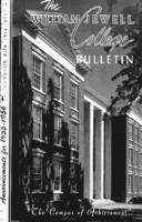 William Jewell College catalog, 1955-1956: announcements 1955-1956