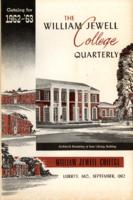William Jewell College catalog, 1962-1963: announcements 1962-1963