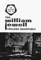 William Jewell College catalog, 1963-1964: announcements 1963-1964