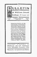 William Jewell College catalog, 1900-1901: catalogue for the year 1900-1901 and announcements for the year 1901-1902