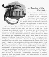 1892 - Burning of the original Academic Hall
