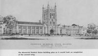 1953 - Planning the south wing of Memorial Union