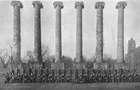1920 - Ivy on the Columns