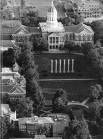 1994 - Aerial photograph of Jesse Hall