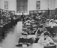 1960 - The main reading room in Ellis Library