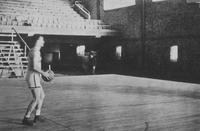 1930 - Basketball inside Brewer Fieldhouse