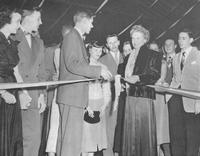 1949 - Rothwell Gymnasium addition ceremony