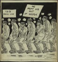 JM-176: The daily bread line 1913