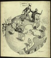 JM-043: Wilson expanding the Monroe Doctrine while Uncle Sam worries about America