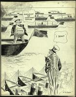 JM-084: Brittania boasts about subsidizing merchant marine, while Uncle Sam stands by unused merchant marine