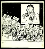 JM-303: Crime crowd protests against Thomas Dewey