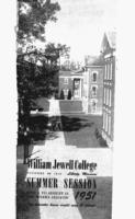 William Jewell College catalog 1951: summer session