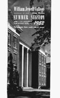 William Jewell College catalog 1952: summer session