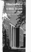 William Jewell College catalog 1953: summer session