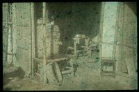 Hiller 07-106 e: Scene of the inside of a one-room building, Chapel