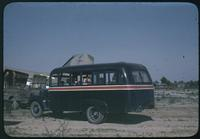 Hiller 08-009: Black van with a red and white stripe, Peiping