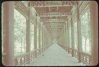Hiller 08-132: Covered walkway with a decorative ceiling, Peiping, number two