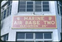 Hiller 08-004: Marine air base sign, number 2, Tianjin, China