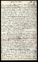 T.M. Rooke's notes of Edward Burne-Jones' talk, Folder 36