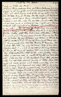 T.M. Rooke's notes of Edward Burne-Jones' talk, Folder 37