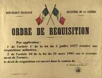 Ordre de réquisition