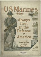 U. S. Marines, the soldiers of the sea