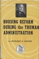 Housing reform during the Truman administration