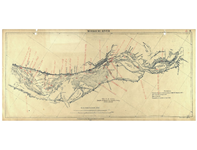 Missouri River : [annotated with steamboat wrecks 1833-1894]