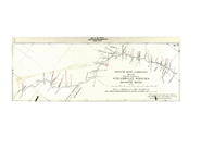 Missouri River Commission map showing location of steamboat wrecks on the Missouri River (1897), sheet II